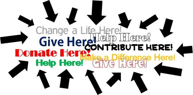 Give Here Graphic