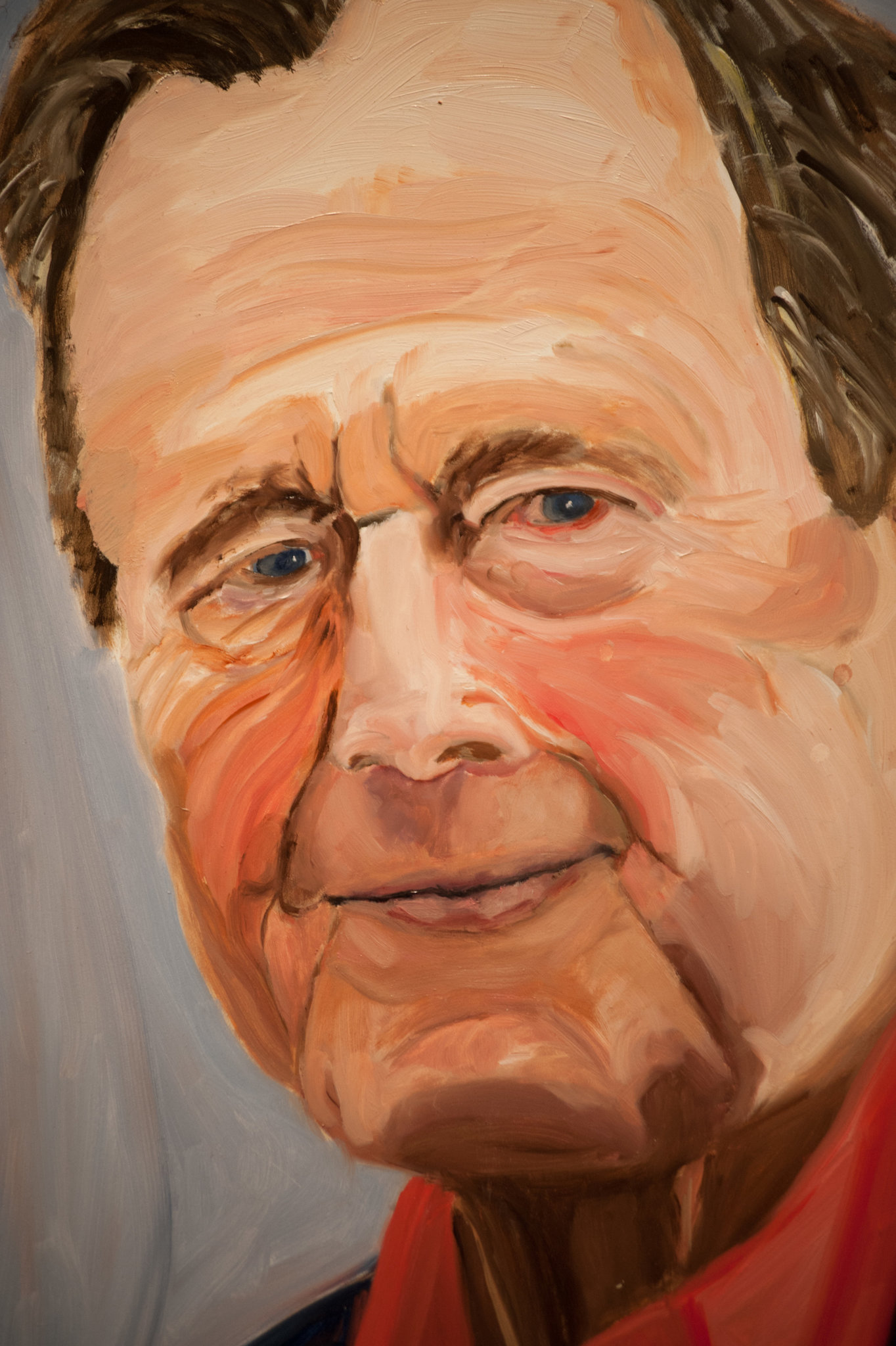 Let s take a moment to talk about george w bush the for George bush painting